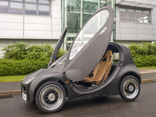 Could small urban cars like this get hydrogen-fuelled vehicles onto our streets faster