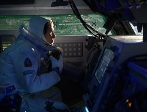 Working alone for years on the moon has taken its toll on Sam Bell (played by Sam Rockwell)