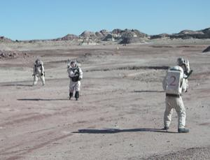 Crews simulate living on the Red Planet at the Mars Society's Desert Research Station in Utah