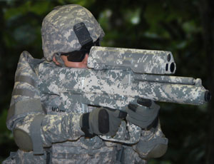This prototype rifle could provide soldiers a new advantage against hidden enemies
