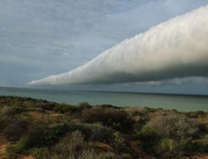 Roll clouds like this are very rare. See a larger version of this image, and more, in our cloud gallery