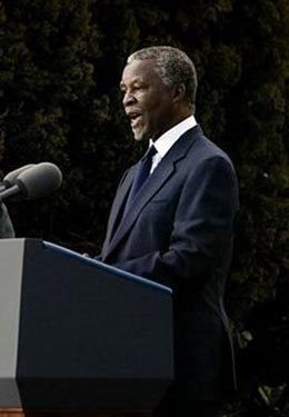 Former South African president Thabo Mbeki was criticised for being an AIDS denialist