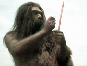 Neanderthal populations were sparsely distrubuted.