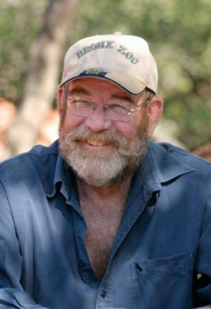 Lawrence Anthony pictured on the Thula game reserve in Zululand, South Africa
