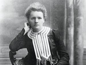 Marie Curie (1867-1934), pictured at the time of her Nobel prize for chemistry in 1903