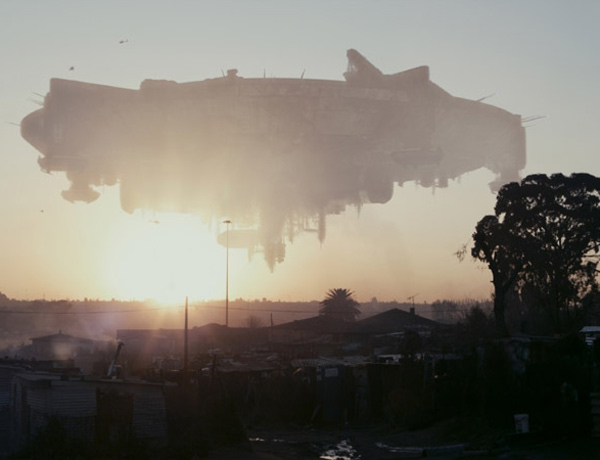 A massive alien spaceship breaks down at Earth in District 9, leaving its occupants stranded