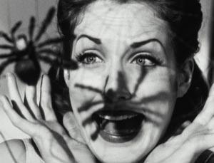 Women are more likely to be fearful of spiders