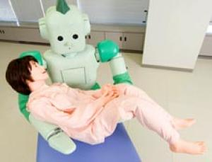 This robot could help care for the infirm. See more medical robots in our gallery