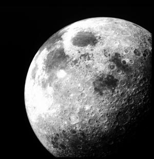 A constant rain of meteorite impacts makes the moon hum
