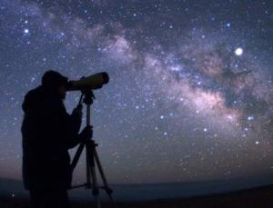 The Milky Way spills across the sky at dark sites like this one in the Tooran desert in eastern Iran