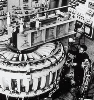 The tokamak, a revolutionary magnetic confinement device, was developed in the late 1950s at the Kurchatov Institute in Moscow