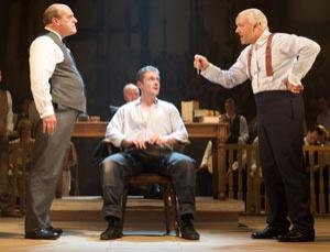 David Troughton, Branwell Donaghey and Kevin Spacey put science on trial in Trevor Nunn's adaptation of Inherit the Wind