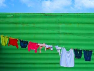 Go green, hang your washing out