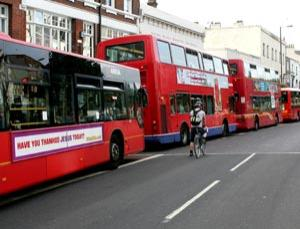 Bused up.  Commuters can help keep transport moving