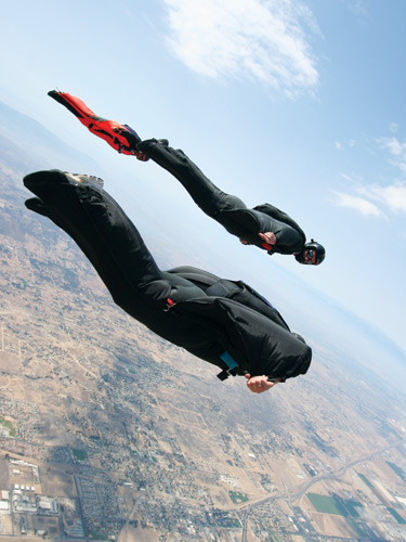 Don't pack your parachute: Totally free fall