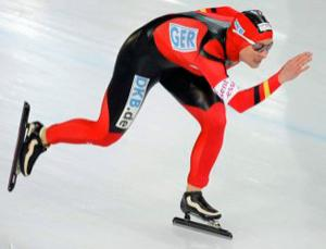 Speed skater Claudia Pechstein was banned for two years