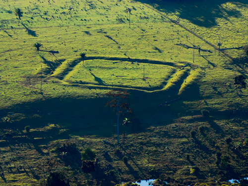 The geoglyphs are thought to date from around 2000 years ago up to the 13th century
