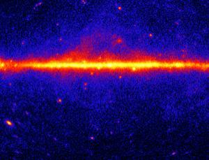 Measuring gamma rays at the centre of the galaxy may point to the elusive Higgs boson