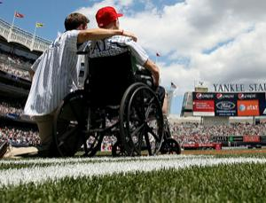 The technology could make getting around easier for people with Lou Gehrig's disease