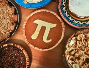 Putting on a spread for Pi day