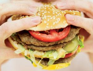 Your fat cells lock away the burger grease