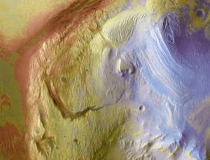 Sulphate minerals like those found in Mars's Gale Crater (pictured) could preserve evidence of past life
