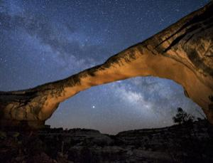 Starry-eyed at Natural Bridges National Monument