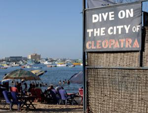 Putting Alexandria on the tourist trail