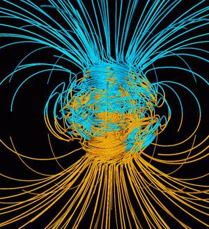 Magnetic poles haven't always been here