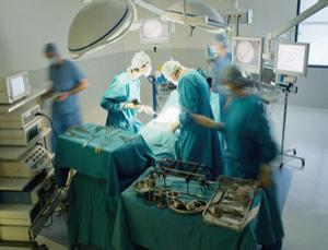 Surgeons have to concentrate for hours on end