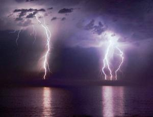 The fluctuating magnetic fields in lightning strikes may induce hallucinations of glowing orbs called ball lightning