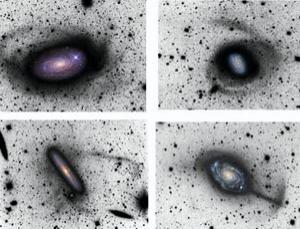 (Images: David Martínez-Delgado, Max Planck Institute for Astronomy/IAC, and colleagues)