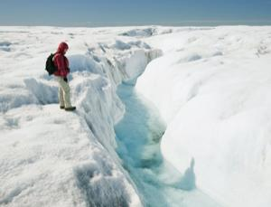 Immense ice sheets have grown and shrunk many times