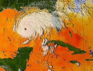 We could be due for a rerun of hurricane Rita