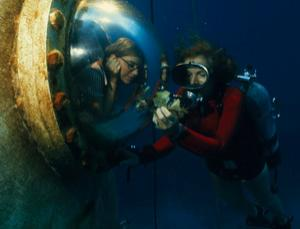 Sylvia Earle gets down to some underwater science