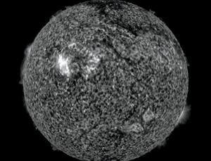 A solar flare plus a giant magnetic filament may spell trouble for satellites