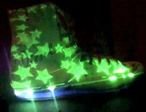 Don't step on my green light boots