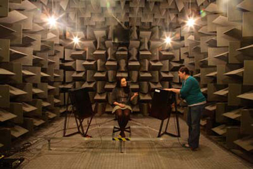 The University of Salford's anechoic chamber