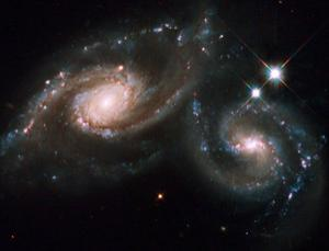 Is a cosmic chameleon driving galaxies apart?