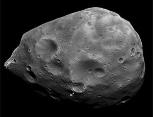 Phobos appears to be a chip off the old Martian block