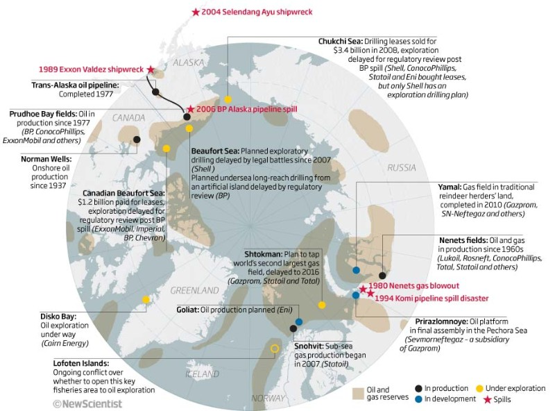 Mapping the world's oil