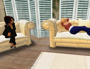 In Second Life, counselling sessions need not be confined to the therapist's office