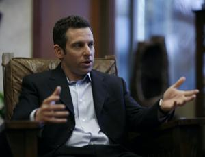 "Sam Harris says that what is ""right"" is what promotes well-being"