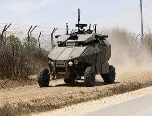 Guardium patrols Israel's borders