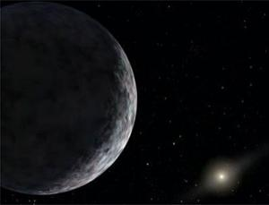 Several observations suggested that Eris was bigger than Pluto, but measurements made on Saturday, when Eris passed in front of a star as seen from Earth, suggest it might be a few kilometres smaller