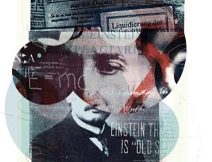An anti-Einstein sentiment (Image: Alex Williamson