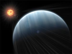 Astronomers have probed the atmosphere of a super-Earth for the first time