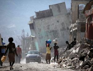Collapsing buildings caused catastrophic loss of life in Haiti