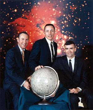 James Lovell, Jack Swigert and Fred Haise