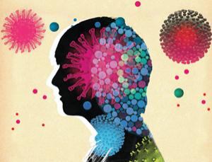 Infectious moods: How bugs control your mind